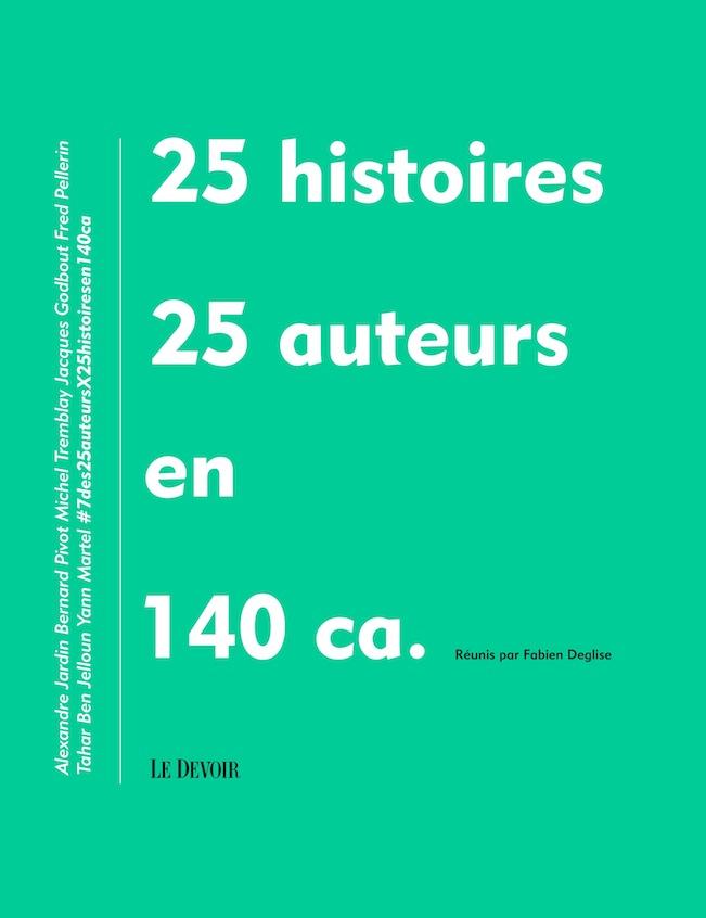 25 auteurs