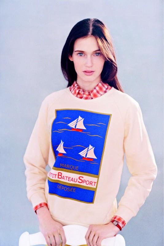 kistune x petit bateau lookbook 1