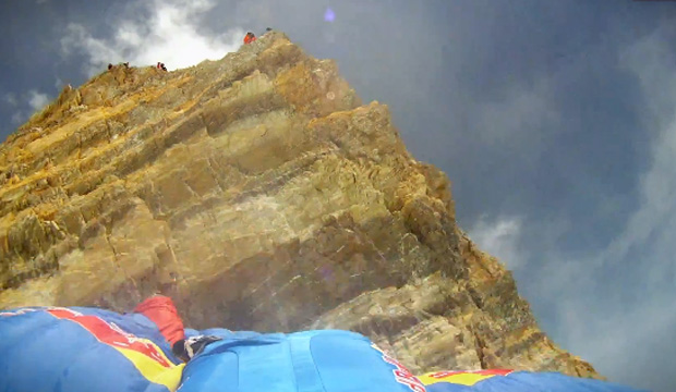 base jump everest