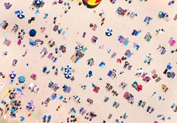 aerial beach photo 2