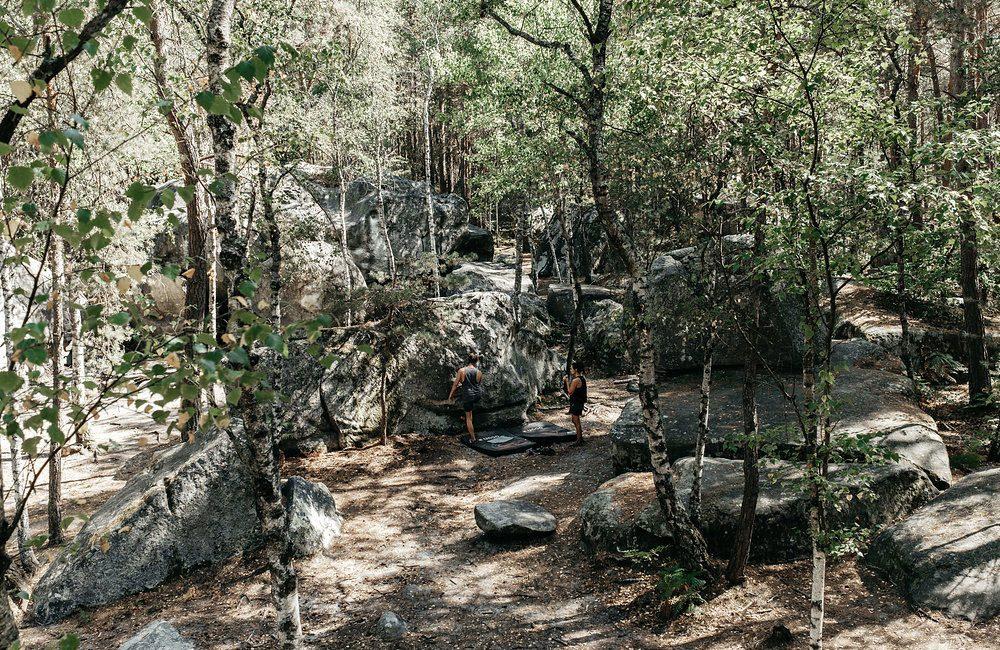 Le guide ultime de l'escalade à Fontainebleau par Les Others