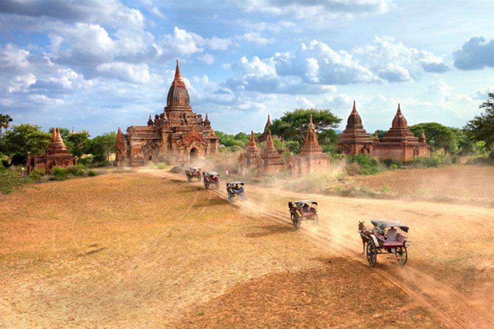 Beautiful Bagan, Myanmar par Kyaw Bo Bo Han