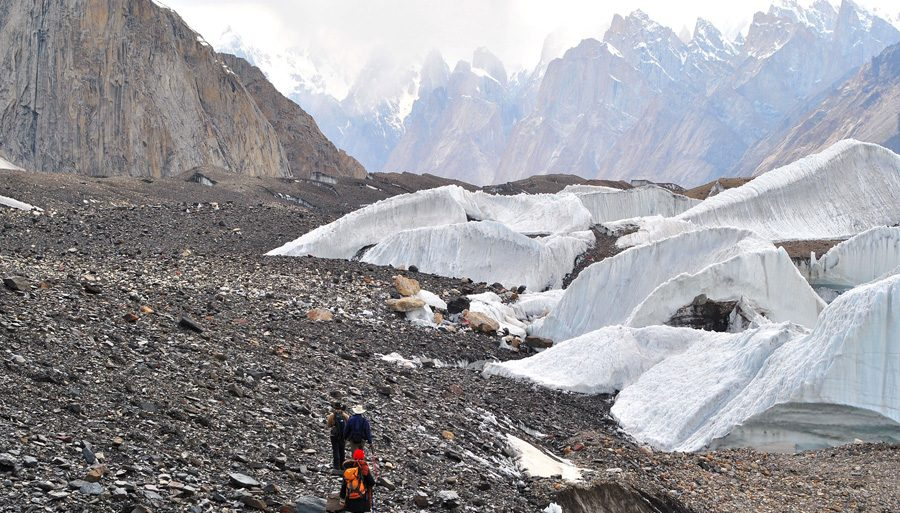 TOURS Trango Towers glacier baltoro