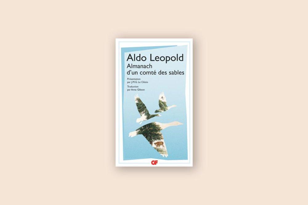Livres voyage aventure 19/100 — Almanach d'un comté des sables — Aldo Leopold (1949)