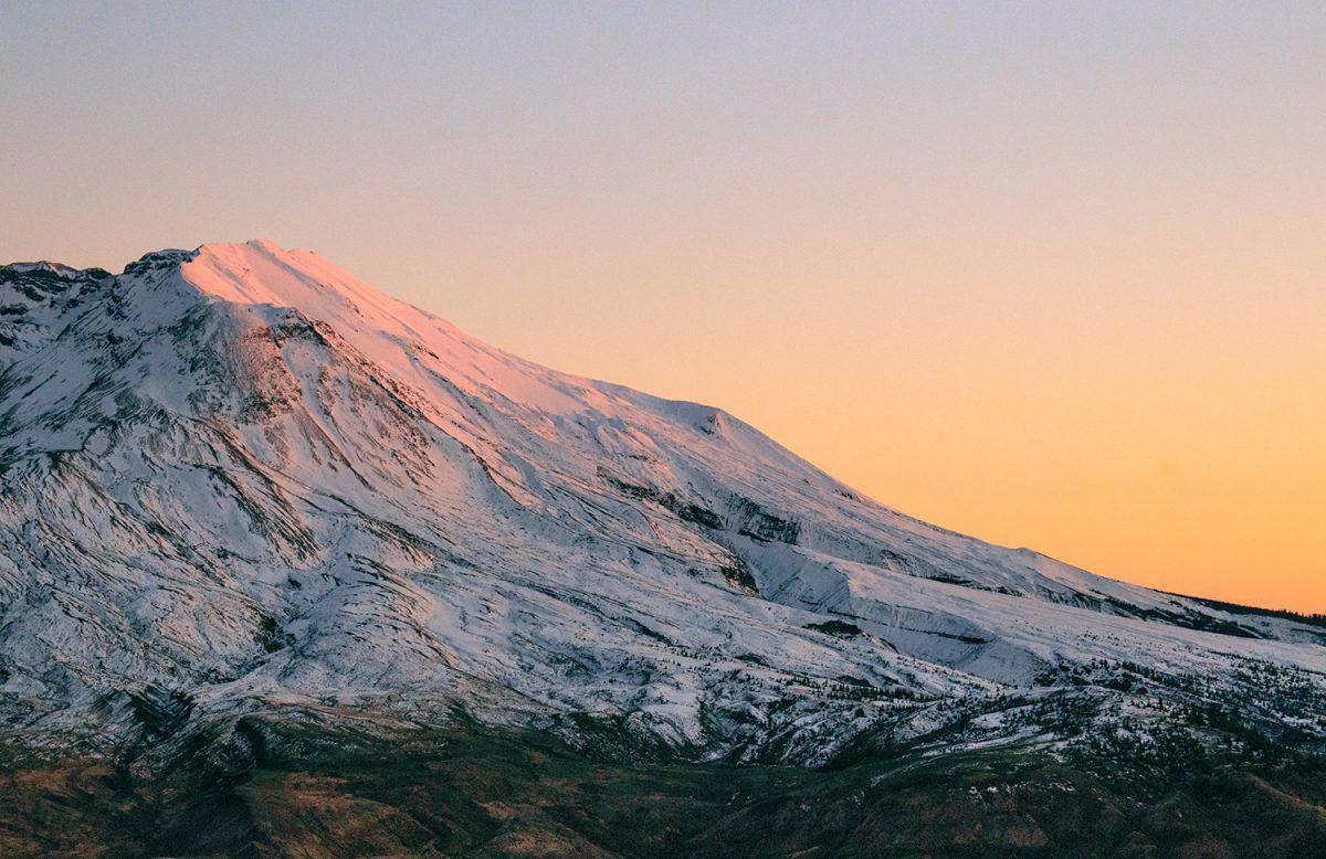Volcan Mont Saint Helens, Etats-Unis
