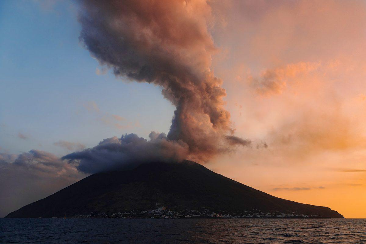 Volcan Stromboli (Italie)
