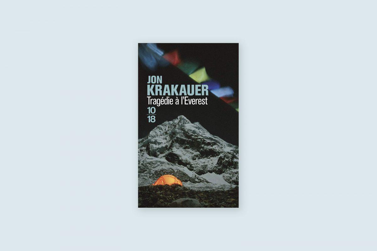 100 livres voyage aventure à lire 56/100 —Tragédie à L'Everest — Jon Krakauer (1997)