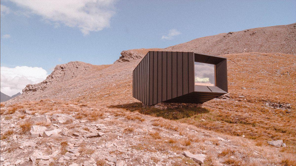Les plus beaux refuges des Alpes : Bivacco MatteoCorradini