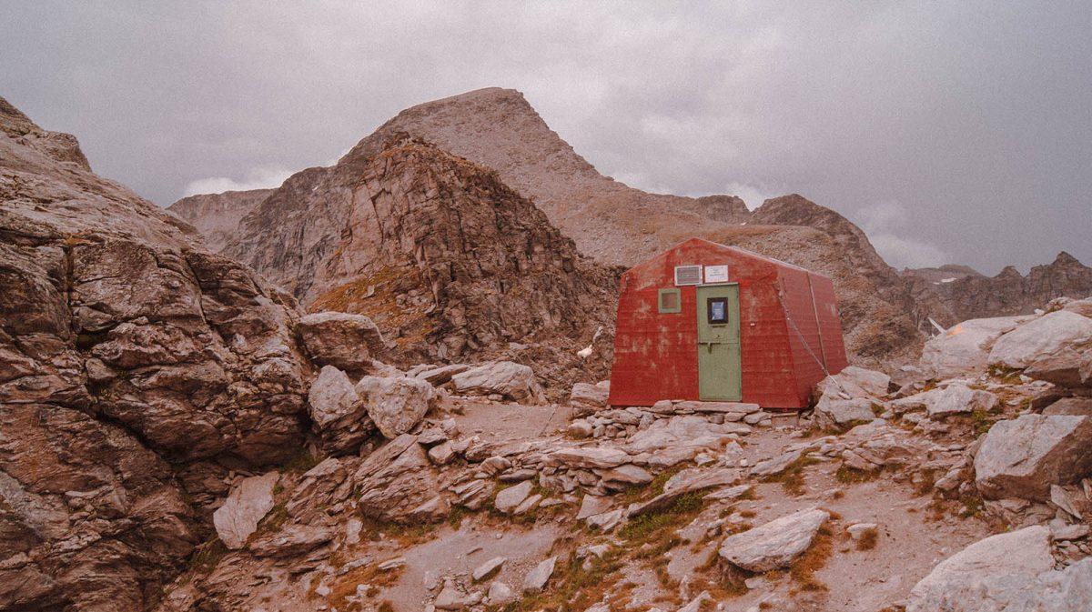 Les plus beaux refuges des Alpes : Bivouac Walter Blais