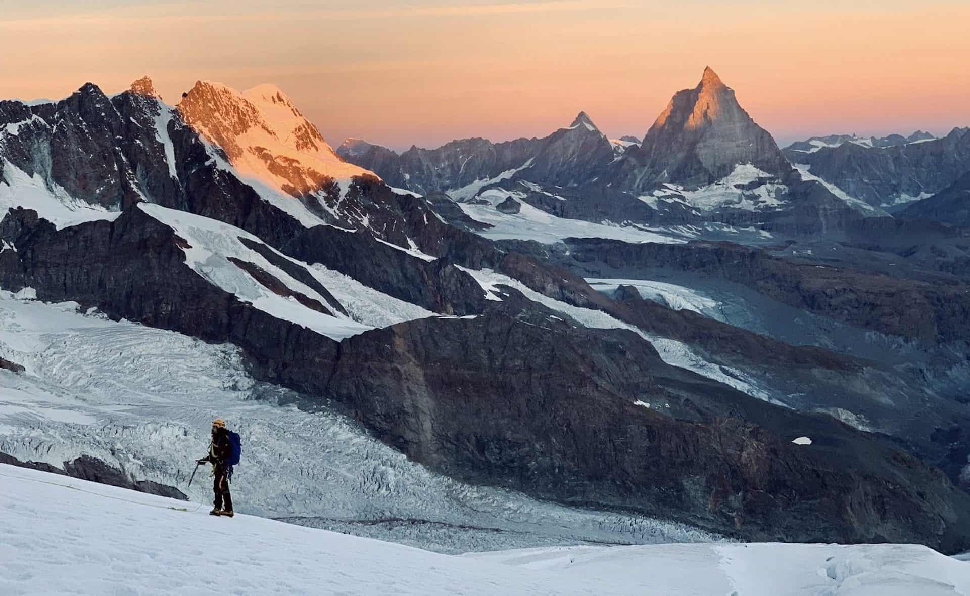 Pourquoi l'alpinisme : une ascension de la pointe Dufour, dans le Mont-Rose