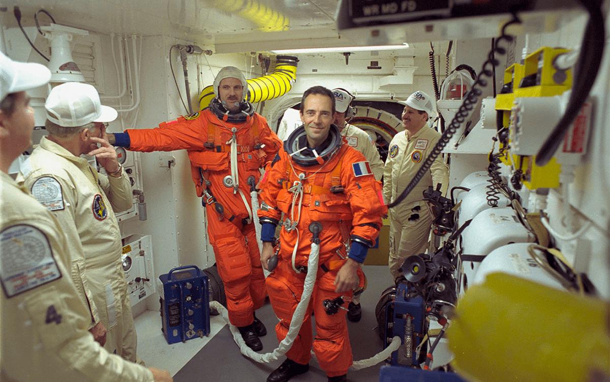 Jean-Francois Clervoy Hubble Sauvetage Espace, Les Baladeurs