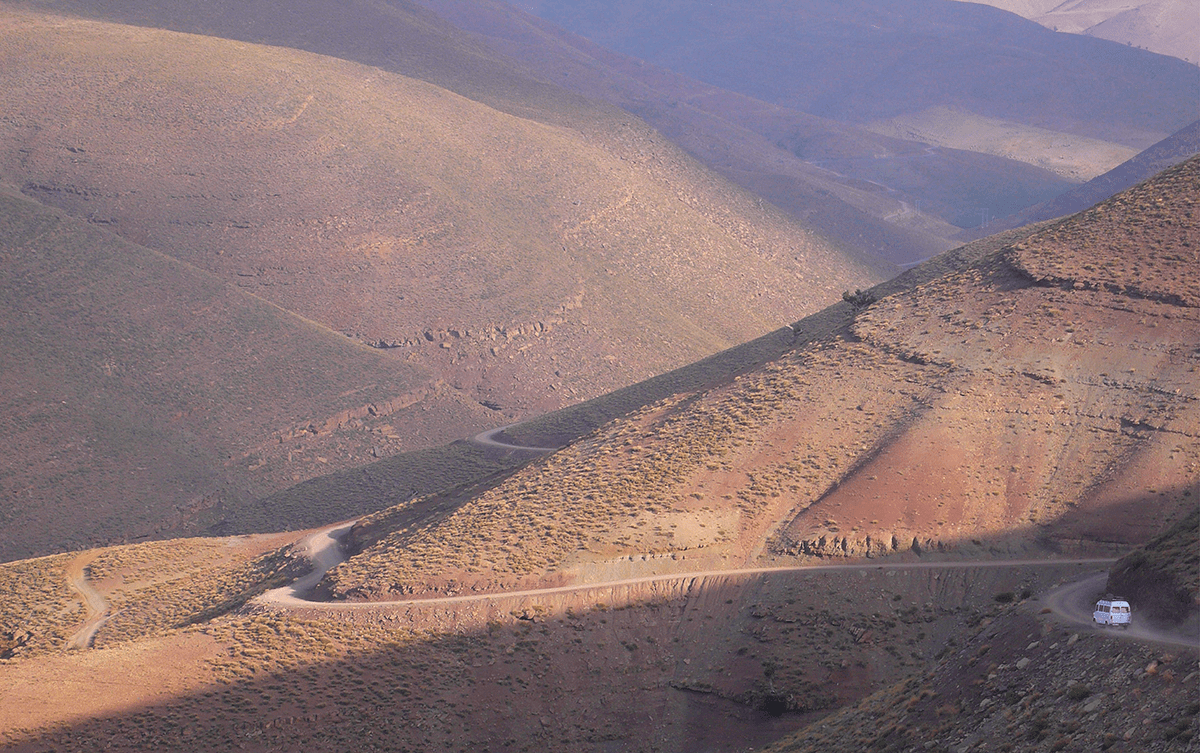 Stéphanie Bodet escalade Maroc Atlas Taghia Les Baladeurs