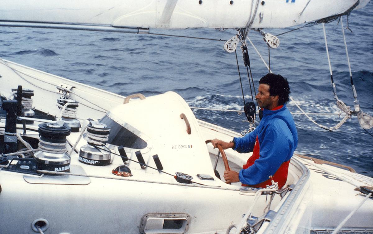 Eric Loizeau navigateur bateau course tour du monde Les Baladeurs