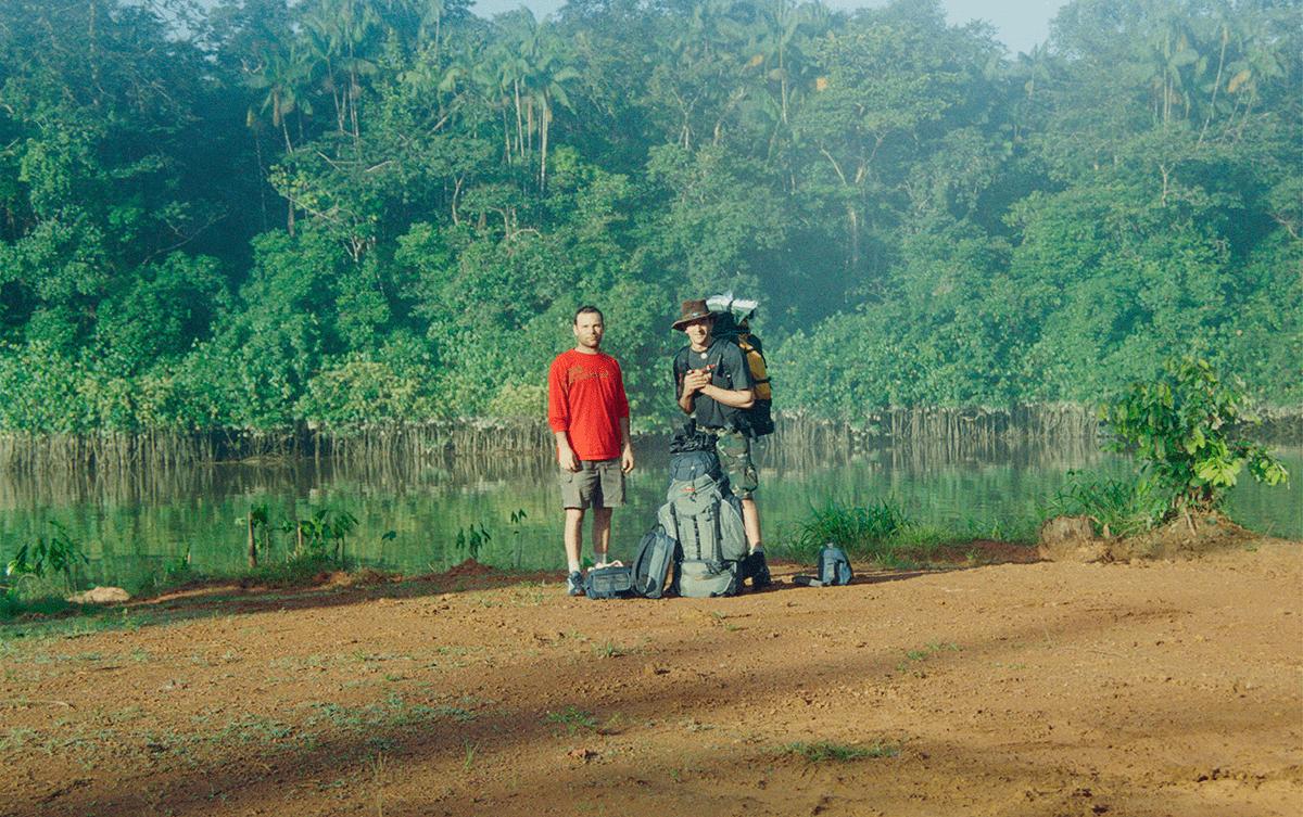 Guilhem Nayral expedition Guyane Amazonie Les Baladeurs