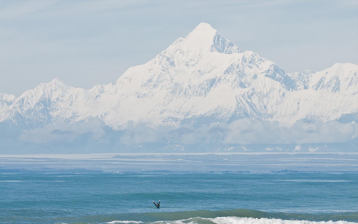 Damien Castera et Mathieu Crépel lors de leur aventure en Alaska