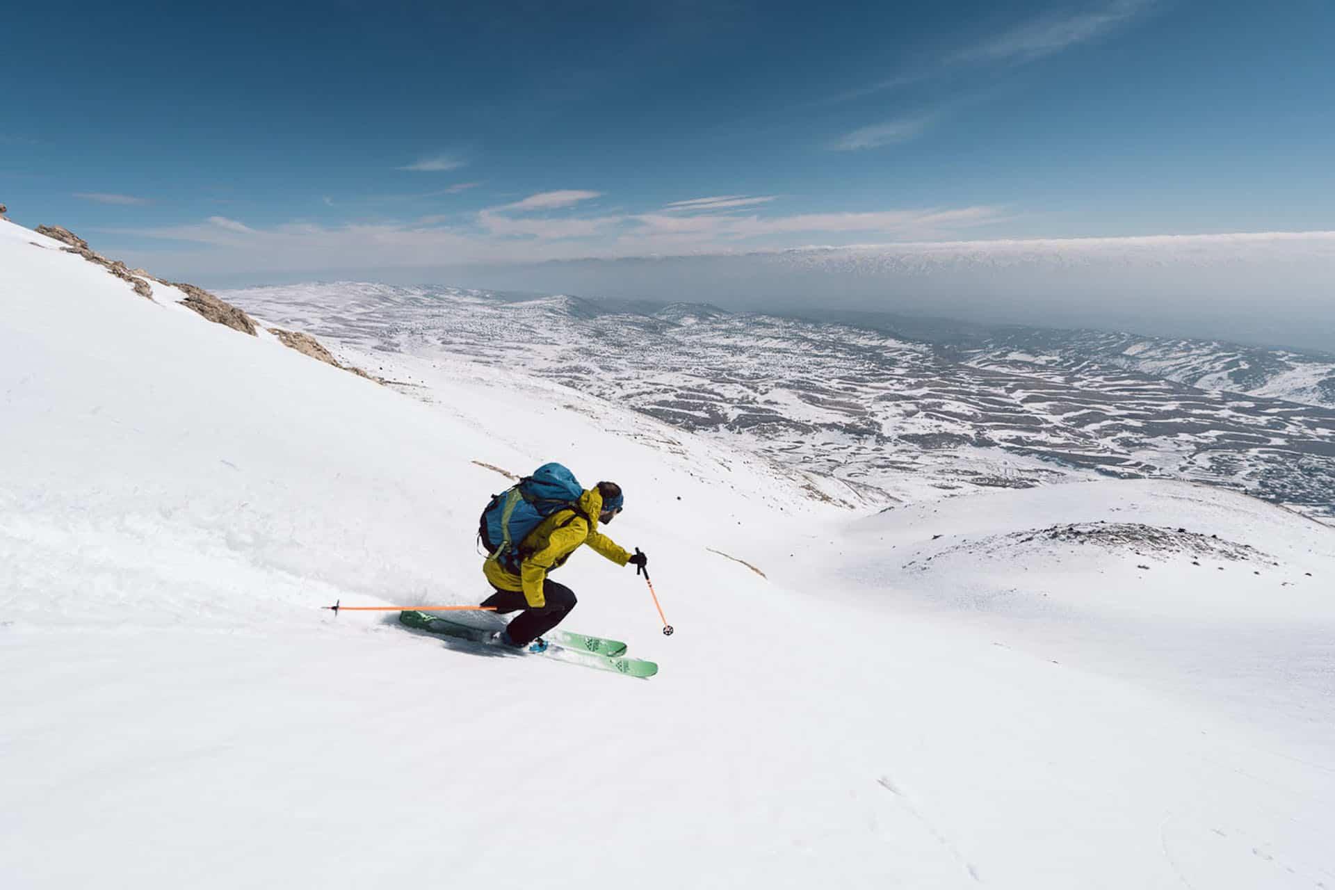 Explorer les montagnes du Liban en ski de randonnée