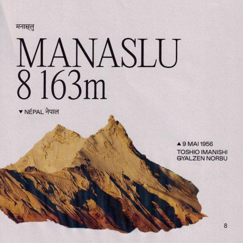 L'histoire de la première ascension du Manaslu (ou Kutang) Lieu : Népal Altitude : 8 163 m Première : 9 mai 1956 Alpinistes : Toshio Imanishi & Gyalzen Norbu