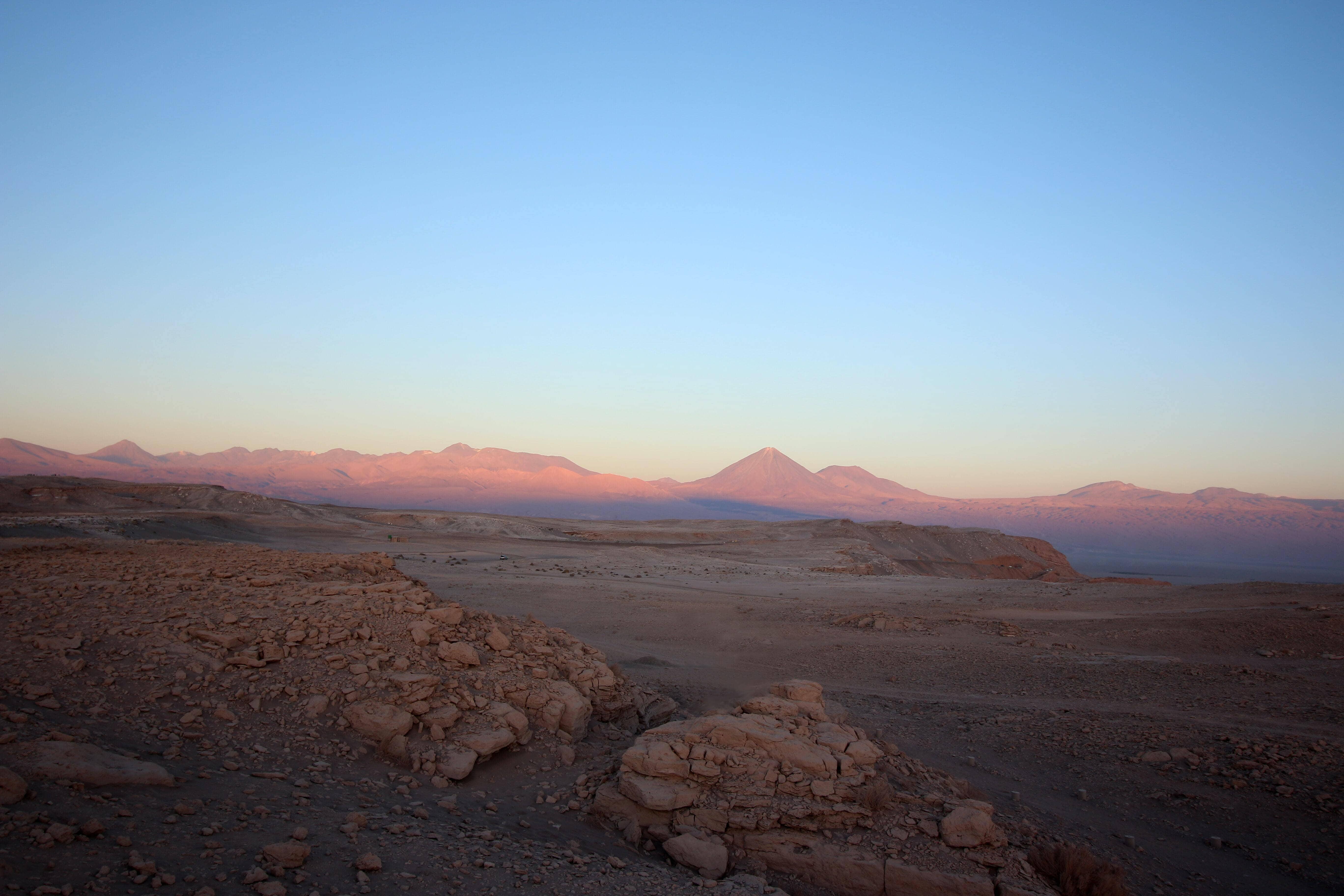 Un paysage chilien chaotique et hostile