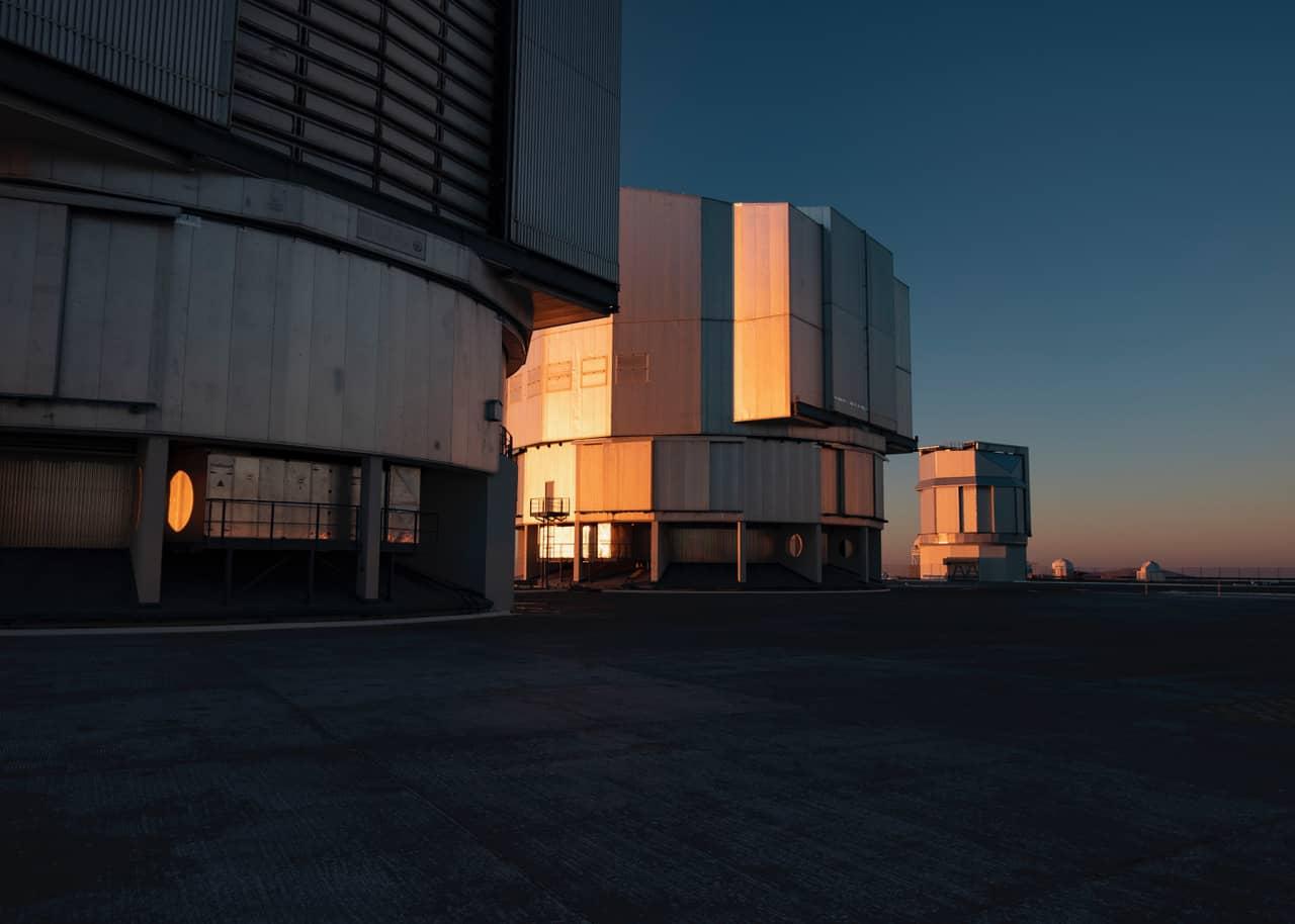 L'observatoire d'Atacama est le plus grand réseau de télescopes au monde