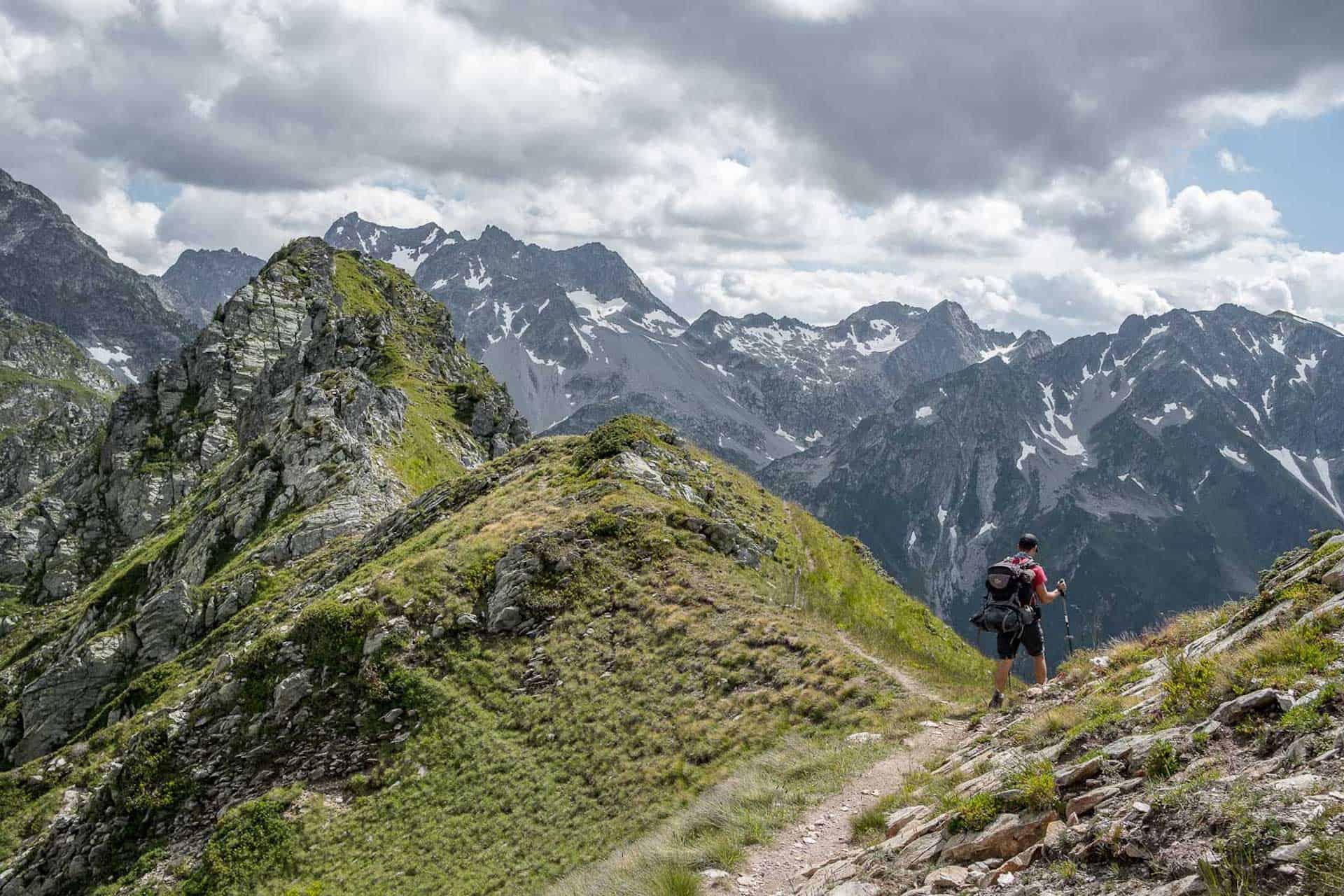 Randonnée à travers le massif de Belledone sur le GR738