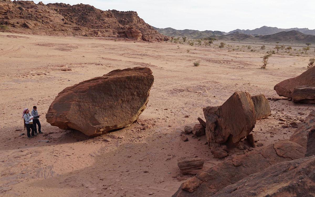 L'archéologue Laïla Nehmé décide de partir sur les traces du peuple Nabatéens.