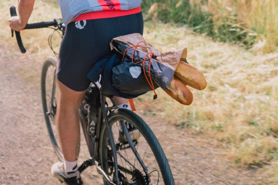 Prévoyez le casse-croute avant de partir en vélo gravel