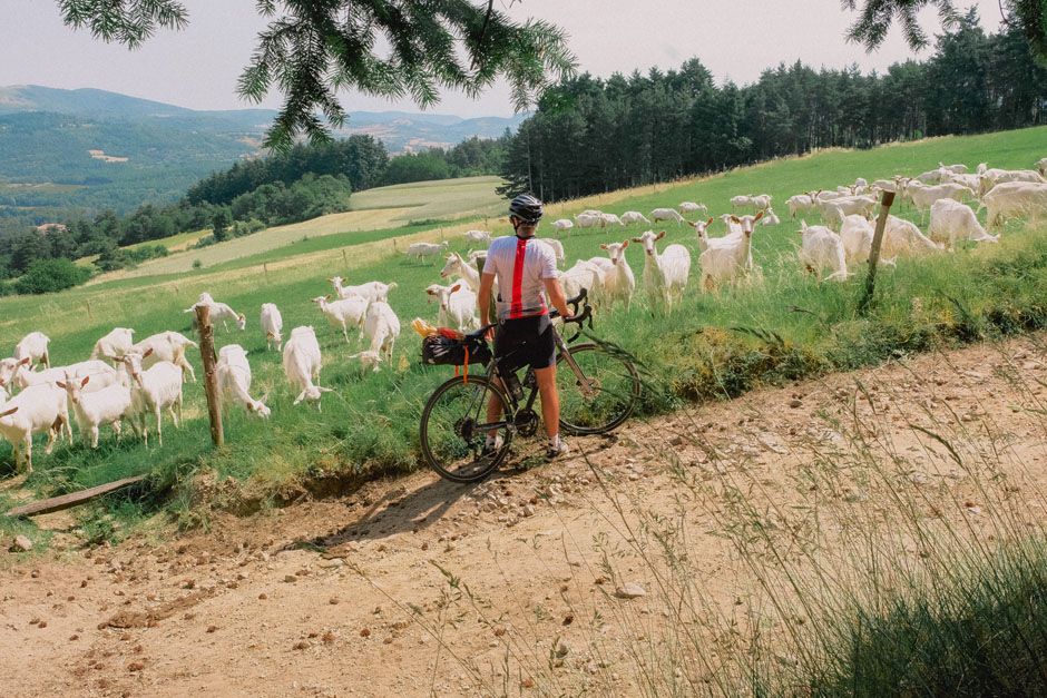 Trois jours de vélo gravel à travers les Monts d'Ardèche