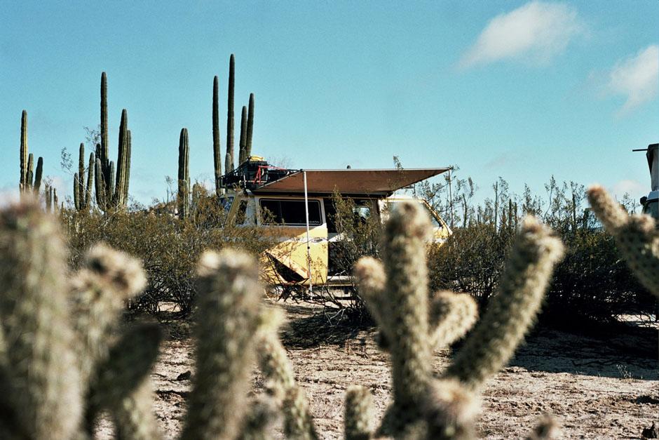 Un road-trip en Combi Volkswagen en Baja California au Mexique