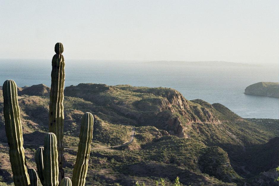 Sur la route en Baja California