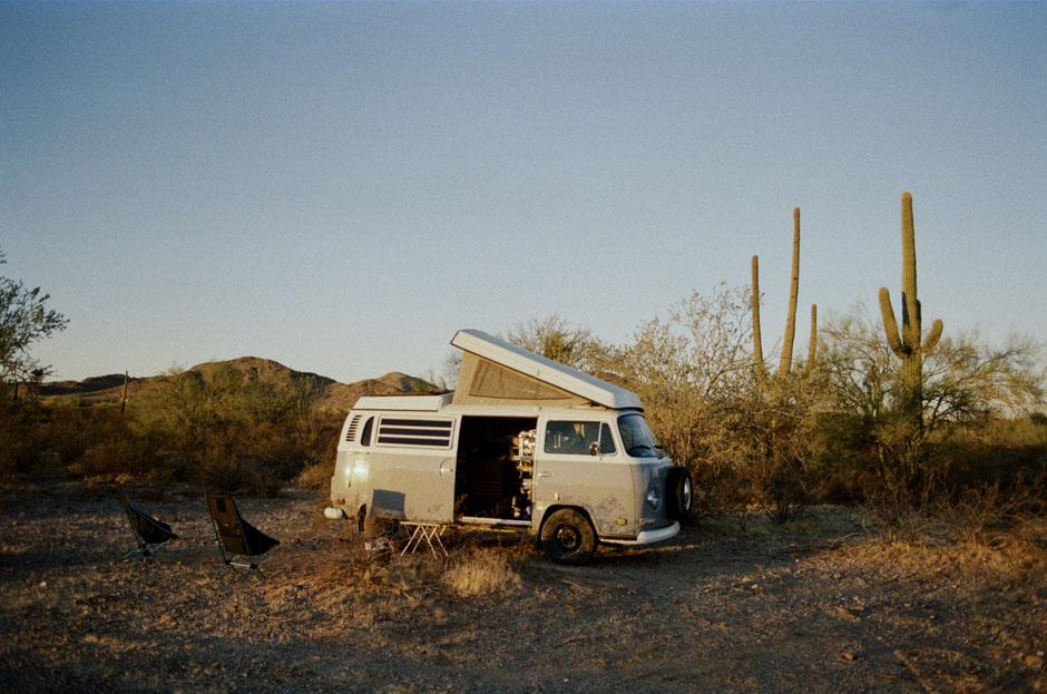 Un road-trip en Baja California en Combi Volkswagen