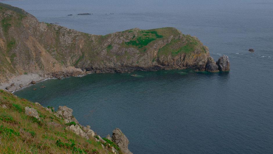 Le Nez de Jobourg dans le département de La Manche