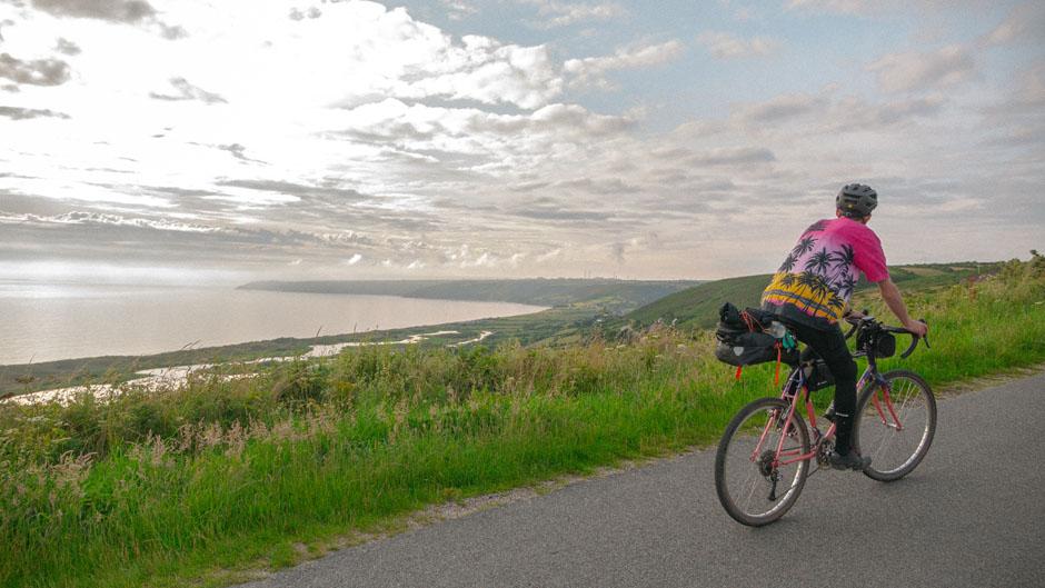 En vélo gravel à travers La Manche